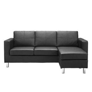 Dorel Living Small Spaces Configurable Cheap Sectional Sofa