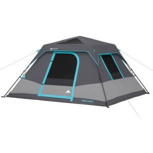 Ozark Trail 6-Person Dark Rest Instant Cabin Tent