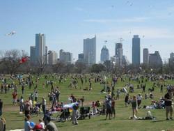 Zilker Park Annual Kite Festival