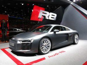 Audi R8 at Geneva Motor Show