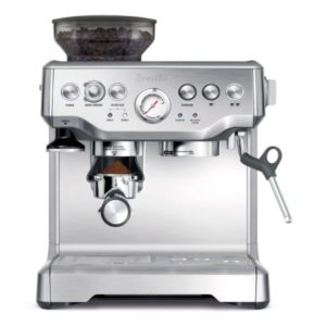 Breville BES870XL coffee maker with grinder