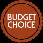 Budget choice badge