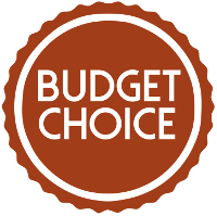 Budget choice badge