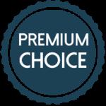 Premium choice badge
