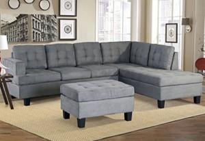 Merax Sofa 3-piece Sectional Sofa set