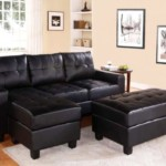 US Tamex Overbey Sofa with Chaise & Ottoman Leather