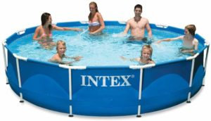 Intex 12 ft x 30 in Metal Frame Pool with Filter Pump