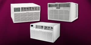 best through the wall air conditioner with heat