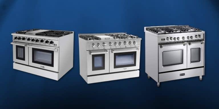 best double oven gas range