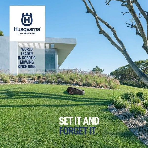 Husqvarna Automower set and forget
