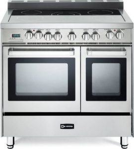 Verona VEFSEE365DSS 36 inch Electric Double Oven Range Convection