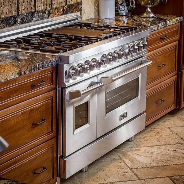 ZLINE double oven storage drawer