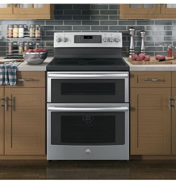double oven electric range types