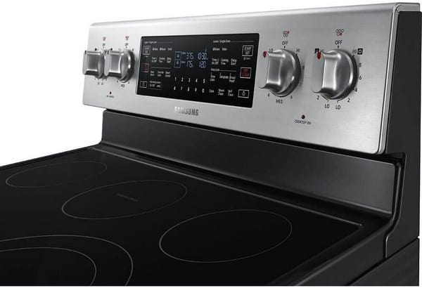 double oven features