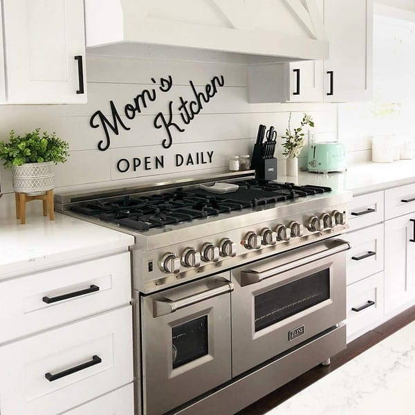 gas range cooktop and oven size