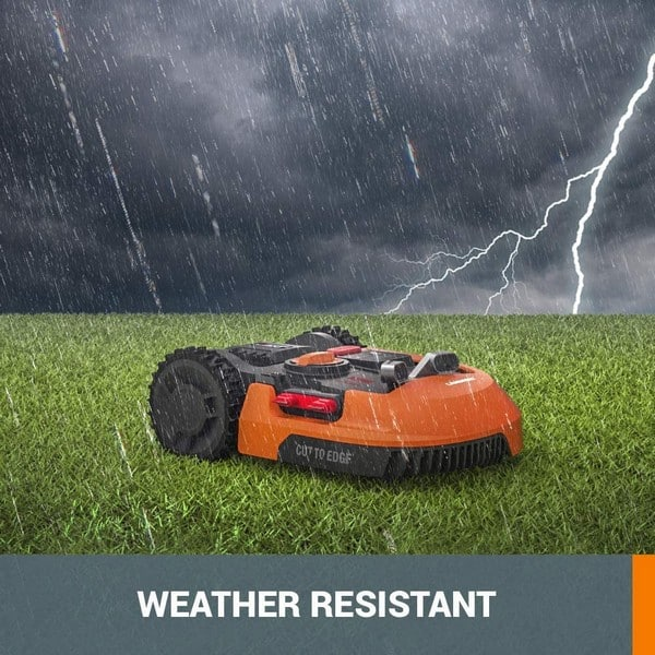 robot lawn mower weather resistant