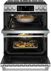 two ovens electric smoothtop
